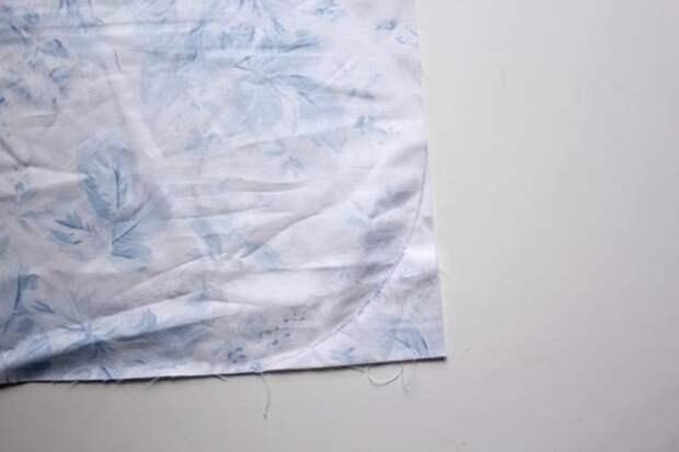 Как сшить детскую юбочку со складками, МК