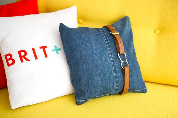 20 забавных способов превратить свои старые джинсы в нечто новое