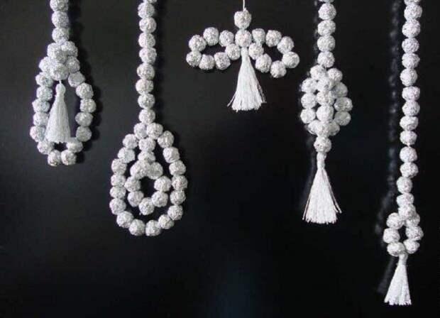 5 идей новогодних украшений из фольги своими руками