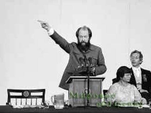 О Солженицыне кроме шуток