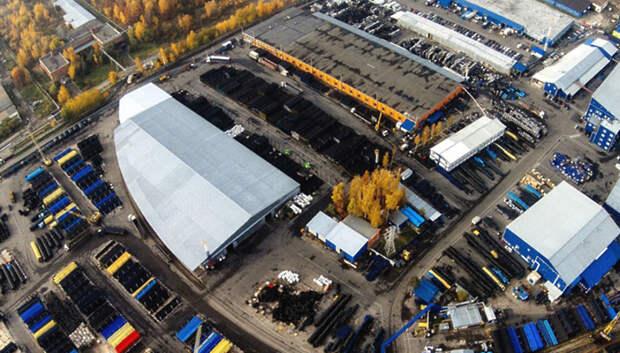 Полимеровозы доставляют сырье на Климовский трубный завод в Подольске