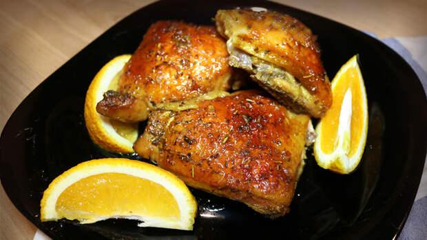Курица запеченная в апельсиновом маринаде Еда, Рецепт, Курица, Курица в апельсиновом маринаде, Видео, Длиннопост
