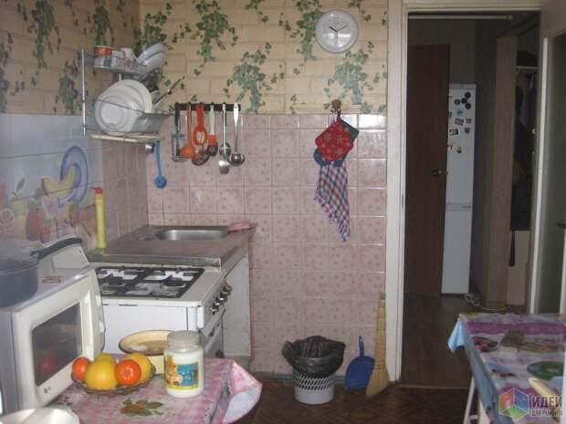 Девушка отремонтировала кухню своими руками и потратила всего 40 тыс. рублей