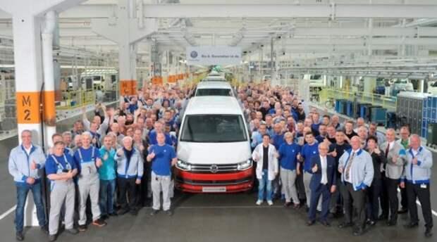 В Ганновере стартовало производство шестого поколения VW T6