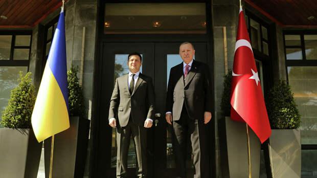 В Кремле прокомментировали встречу Эрдогана с Зеленским