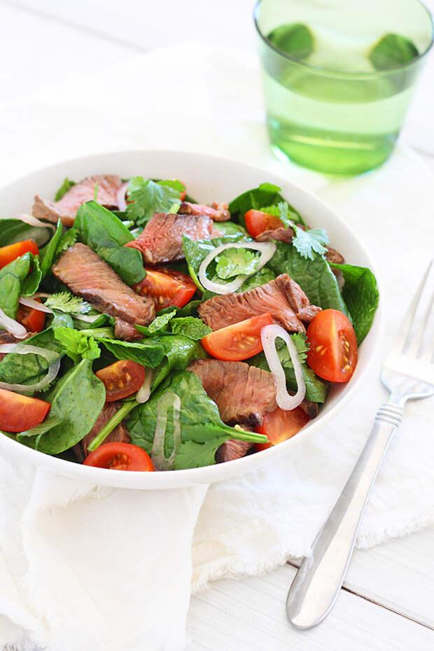 САЛАТНЫЙ ДЕНЬ. Тайский салат с говядиной