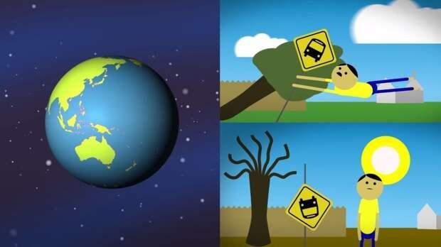 Россиянам показали ужасающие последствия остановки вращения Земли