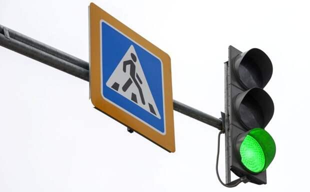 В Некрасовке на пересечении ул. Покровская и Рождественская восстановили работу светофоров