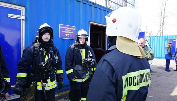 Огнеборцы потушили возгорание в частном доме поселка МИС в Подольске