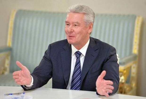 Собянин заявил, что Москва кормит Россию