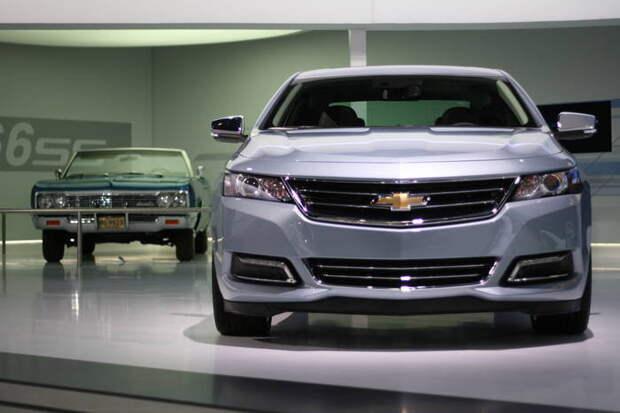 14. Chevrolet авто, история