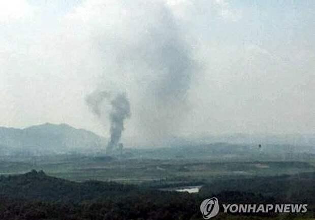 КНДР взорвала совместный офис связи Севера и Юга