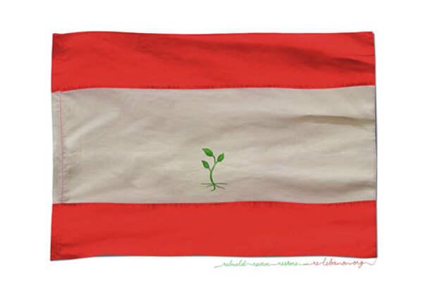 Новый флаг нового Ливана