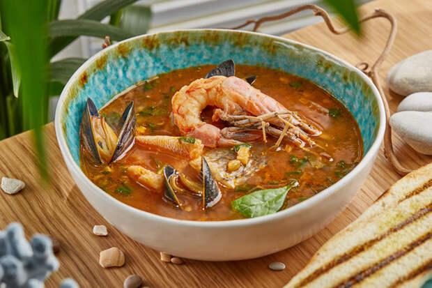 Готовим рыбный суп по-сиракузски