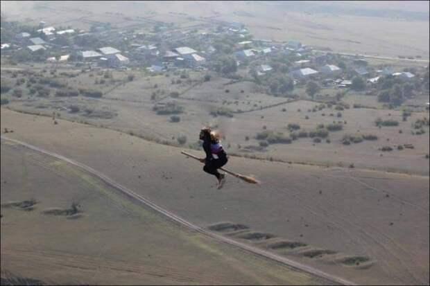 Полет на метле