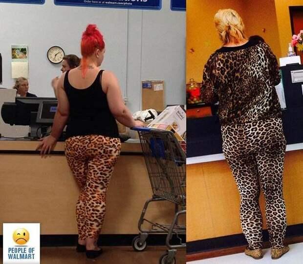 Без комплексов: безумные наряды посетителей американских супермаркетов