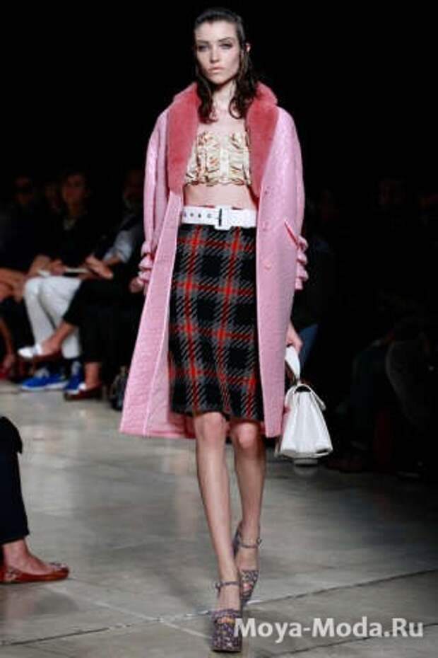 Модные юбки весна-лето 2015 Miu Miu