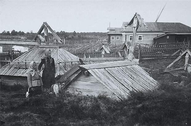 Любопытные и криповые исторические фотографии о жизни столетней давности