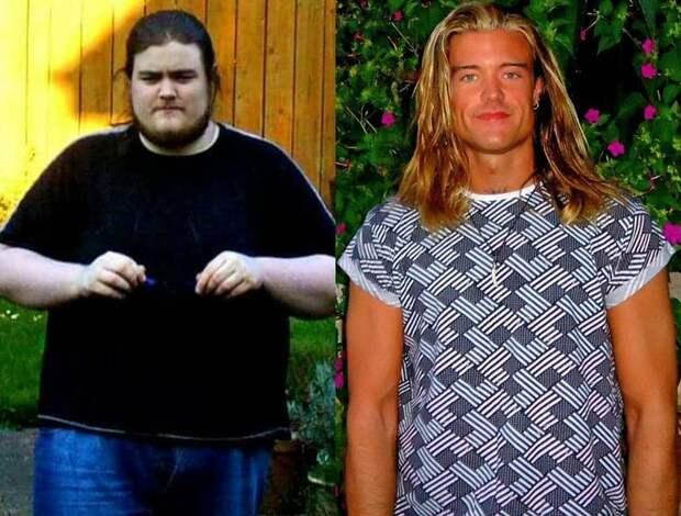Из толстяков в красавцы. Невероятные фото до и после похудения