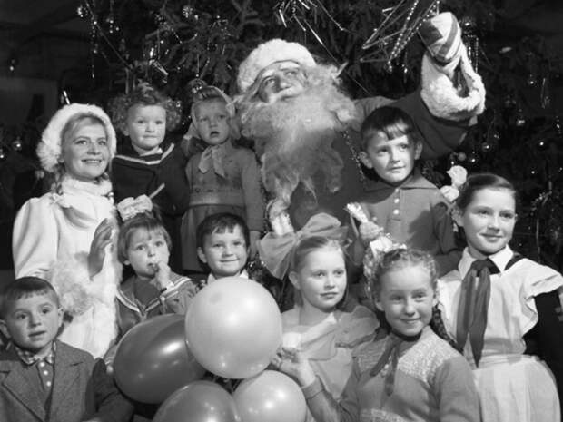 Старый добрый советский Дед Мороз