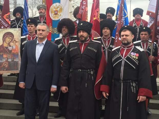 Путин назначил советника Аксенова атаманом крымских казаков