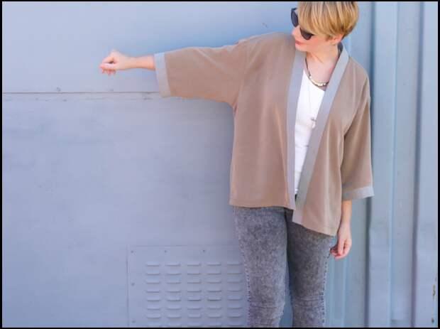 Мастер-класс как сшить своими руками кимоно