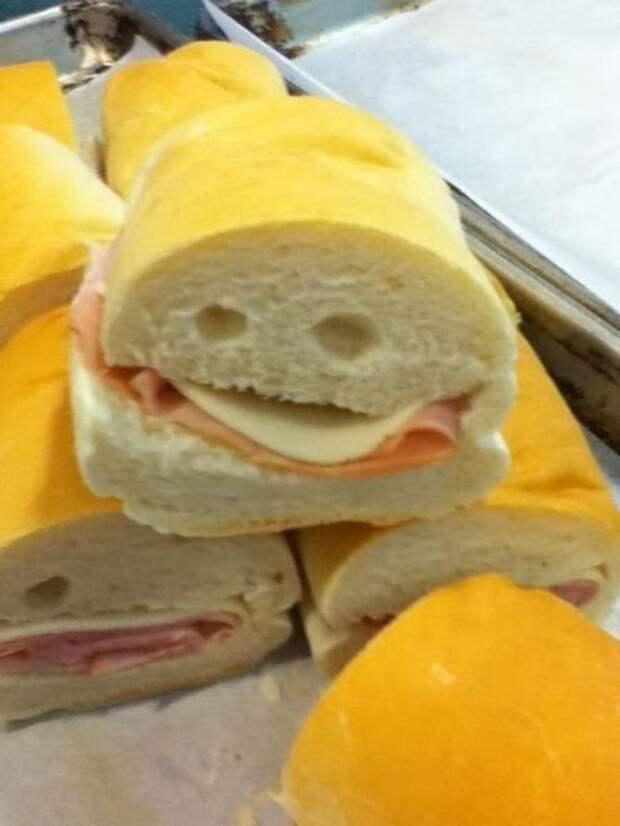 Чудаковатый сэндвич