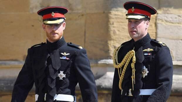 Принцы Гарри и Уильям поговорили после похорон деда