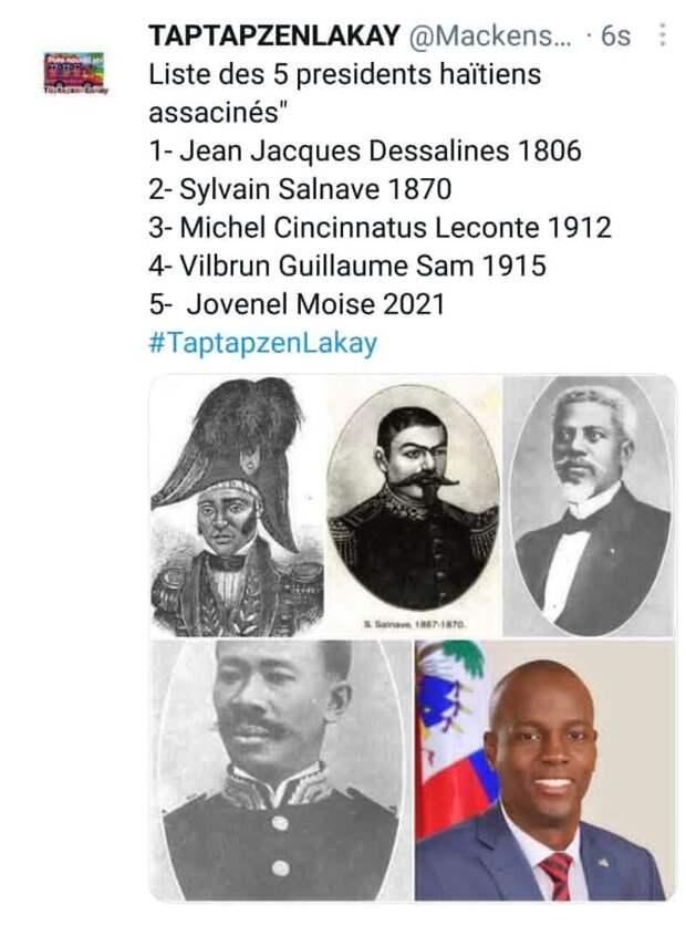 2 гражданина США задержаны за убийство президента Гаити