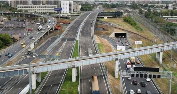 Автомобилистам Лефортова станет удобнее с запуском путепровода через ж/д пути МЦД-2