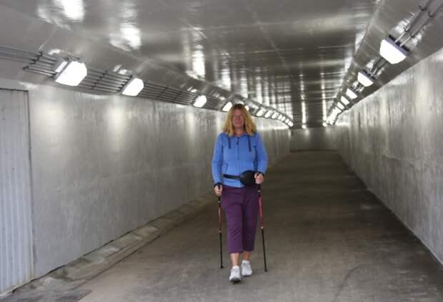Под СВХ открыли подземный переход из Отрадного в Ботанический сад