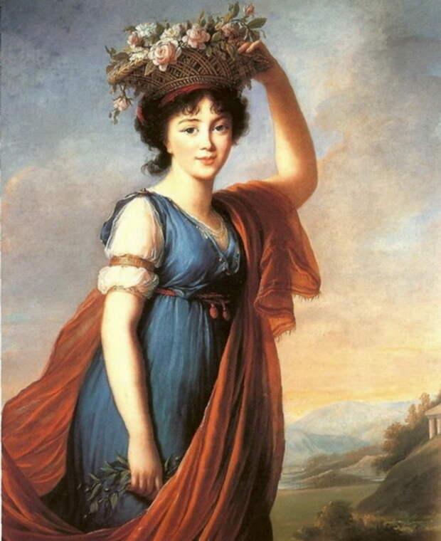 Портрет Авдотьи Голицыной
