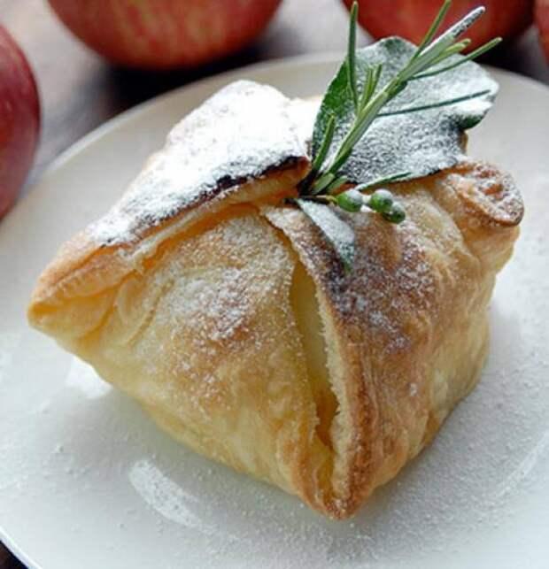 """Пирожное """"Яблоки в слойке"""""""