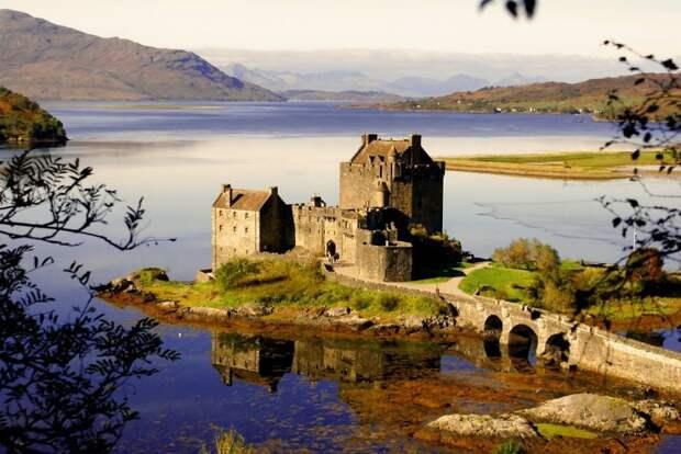 Замок Эйлен-Донан, Шотландия.