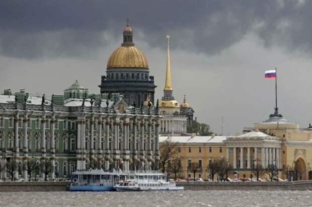 5. Санкт-Петербург— 180 дней Города России, дождь, погода, статистика