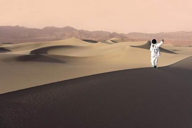 Как будут выглядеть туристы на Марсе