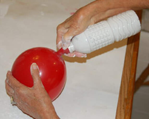 shaking out the plaster