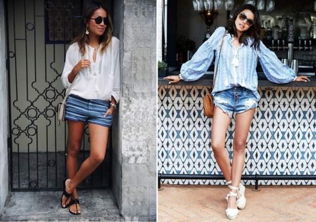 5 самых актуальных сочетаний одежды для летнего сезона