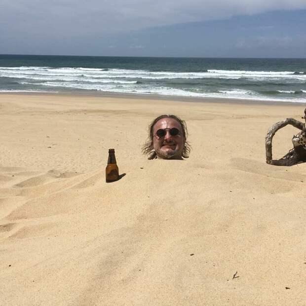 Как развлечь себя напляже? Перед этим веселым занятием несможет устоять никто
