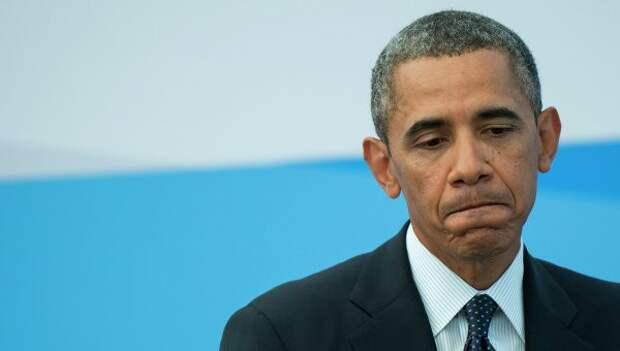 Внешнюю политику Обамы не одобряют почти 60% американцев