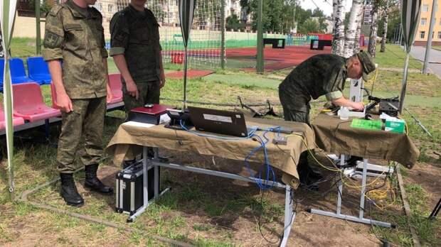 Военные ВВО отработали задачи по организации связи в рамках проверки войск в Хабаровске