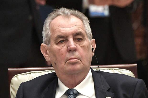 Президент Чехии назвал две версии взрывов во Врбетице