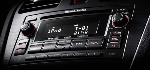 Мультимедийная система Harman Kardon в автомобиле Subaru