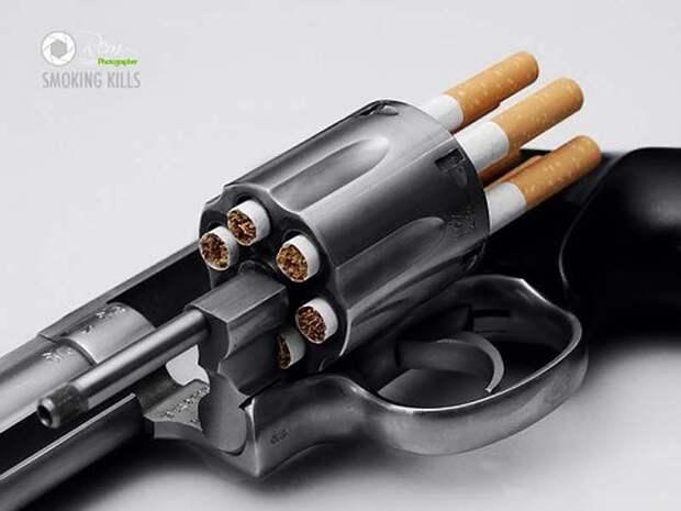 30 лучших постеров о вреде курения