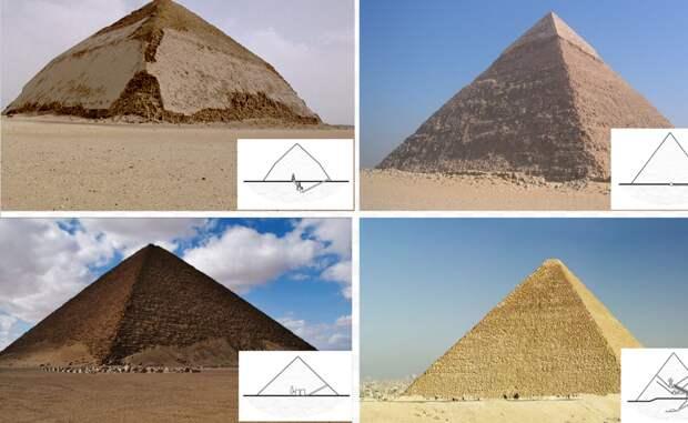 Пирамида Бент расположена в некрополе Дахшур. Она является одной из самых старых существующих пирамид. Полученные с помощью спутника 3D-изображения показали ее внутренние покои, куда человек не заглядывал вот уже четыре тысячи лет.