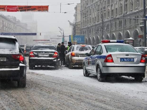 ГИБДД: Основным видом ДТП в столице стал наезд на пешехода