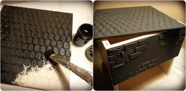 Декорируем мини-комод для кухни: декупаж, имитации, состаривание