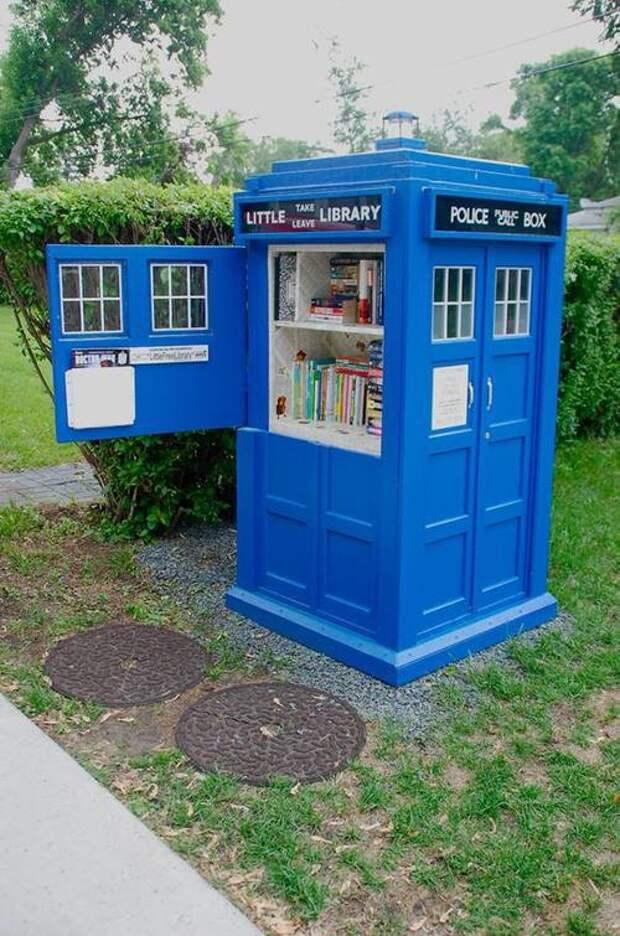 Маленькая Библиотека в Лондоне