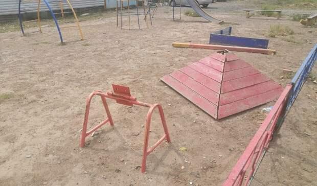 33% детских испортивных площадок России потенциально опасны для жизни