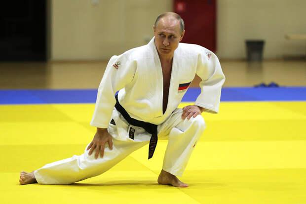 Путин увлёкся новым видом спорта